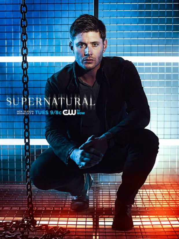 'Supernatural' season 9 character posters cage the cast ...