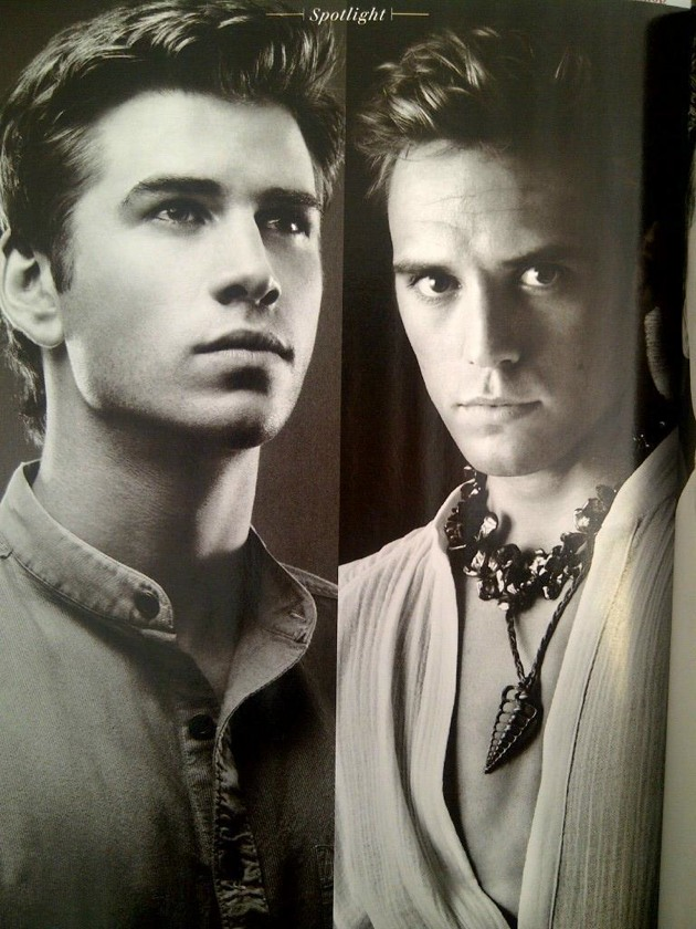 'Catching Fire' Vanity Fair portraits - Gale and Finnick