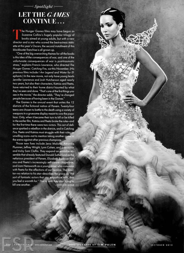 Vanity Fair 'Catching Fire' portraits reveal new character ...