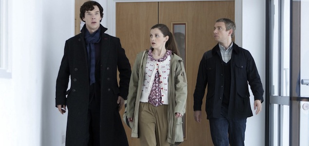 Molly Hooper and friends