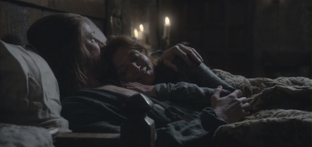 Ned and Catelyn