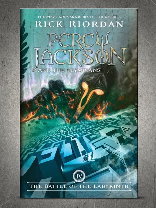 Percy Jackson Battle of the Labyrinth New Cover