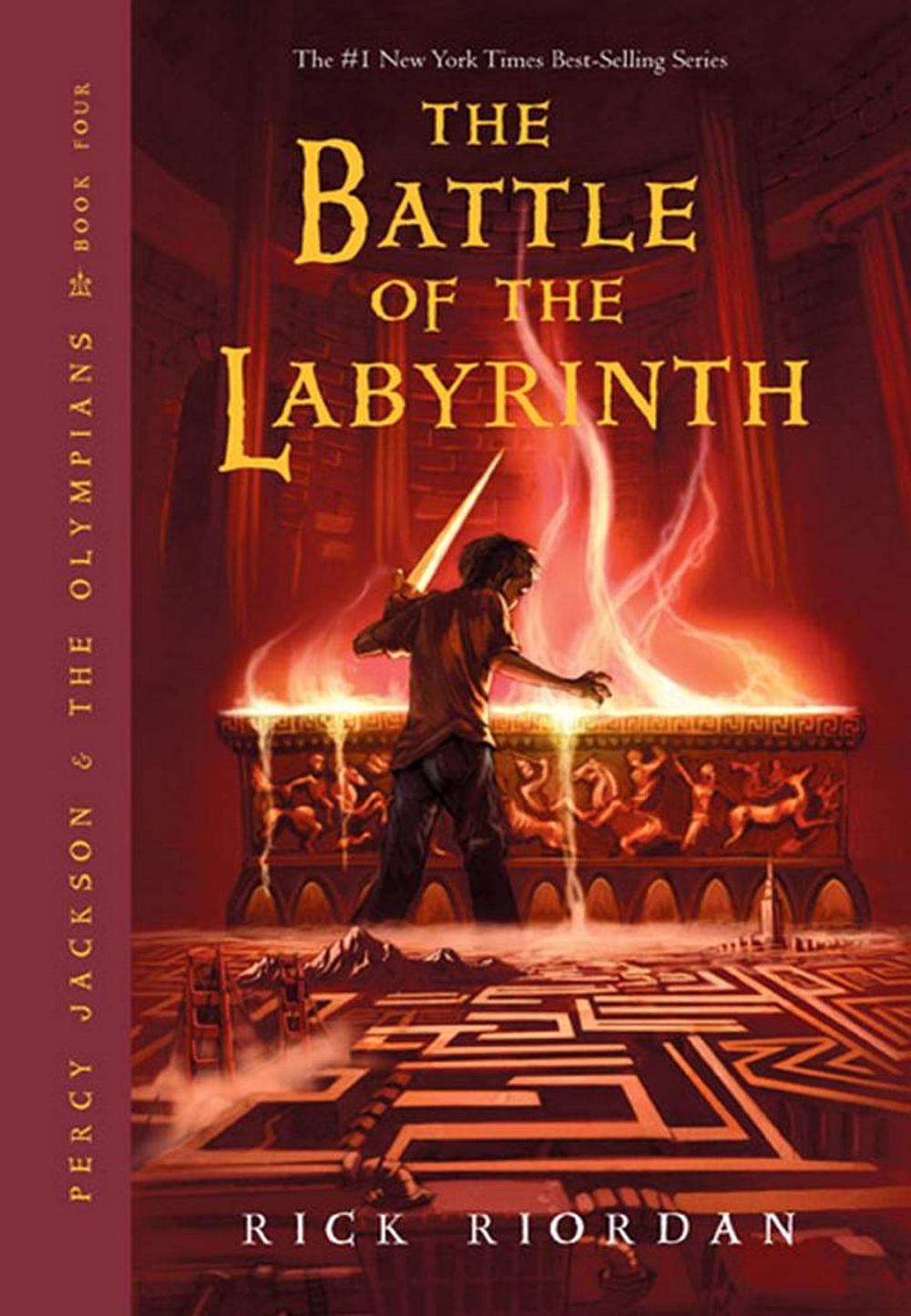 Percy Jackson Battle of the Labyrinth Original Cover