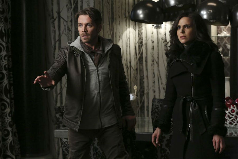 Once Upon a Time season 5 regina robin