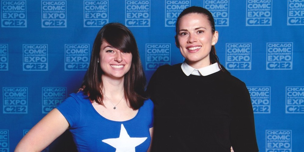 Hayley Atwell at C2E2