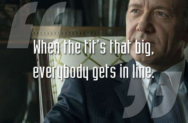 House Of Cards Quotes | 20 Best House Of Cards Quotes From Frank Underwood