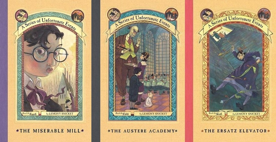 series-unfortunate-events-middle-three-books