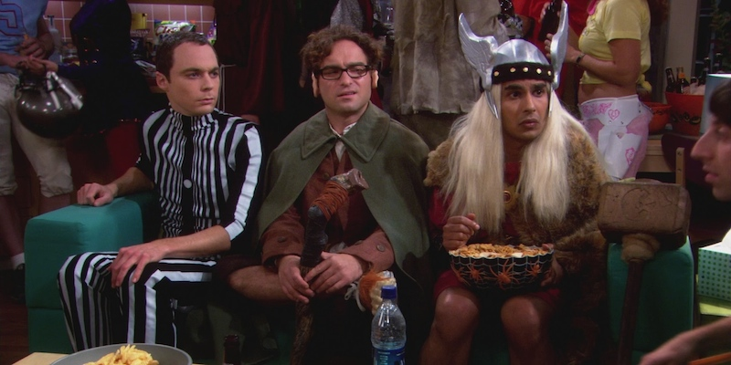 Big Bang Theory Middle Earth Paradigm