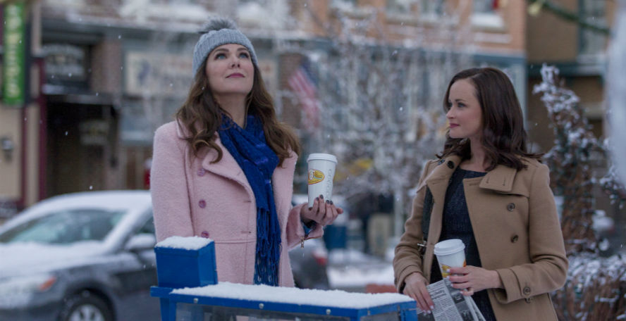 Gilmore Girls feature snow
