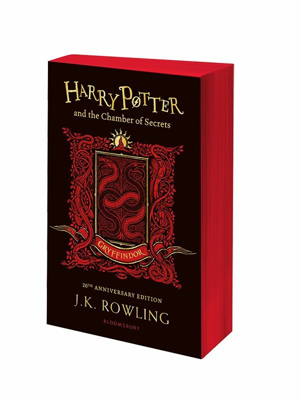 Harry Potter Book Dates ~ Harry potter chamber of secrets house editions release
