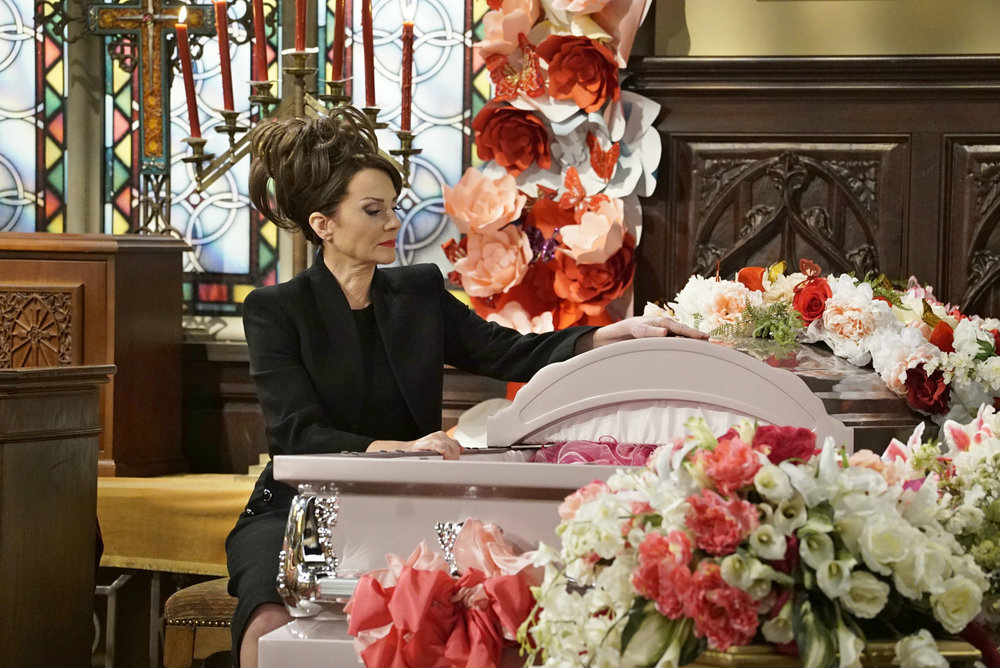 Will and Grace rosario funeral