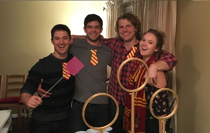 harry potter beer olympics, hogwarts house cup