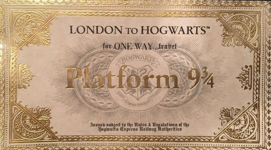 harry potter beer olympics ticket, hogwarts house cup