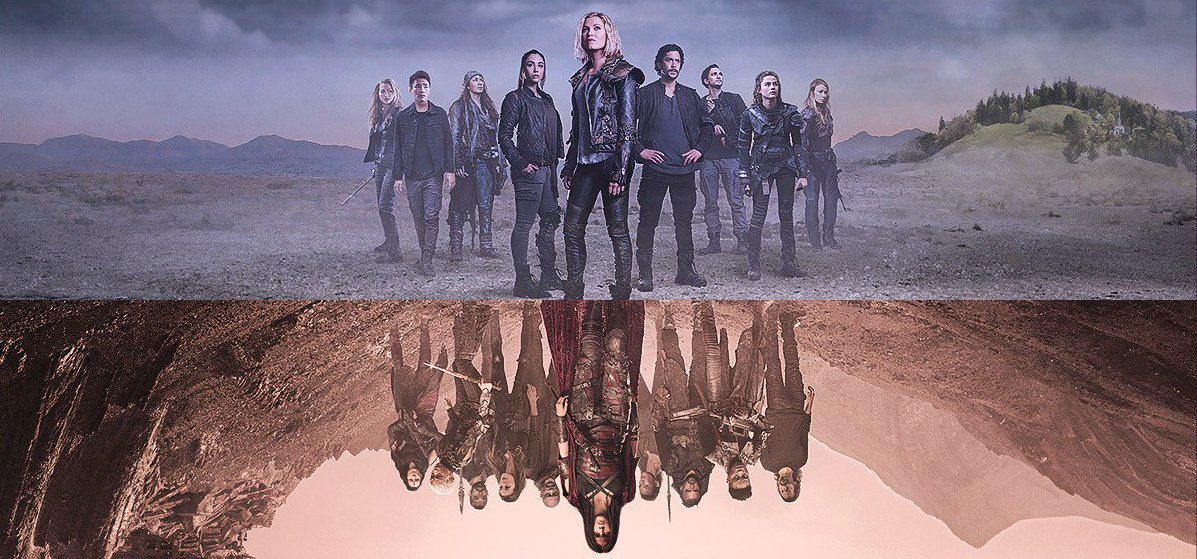 Over Analyzing The 100 Season 5 Poster