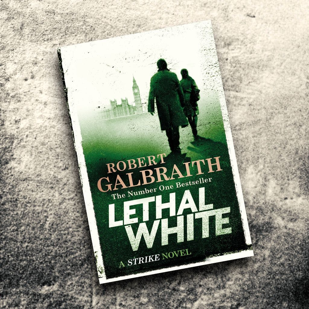 Cormoran Strike Book 4 Lethal White Release Date Cover