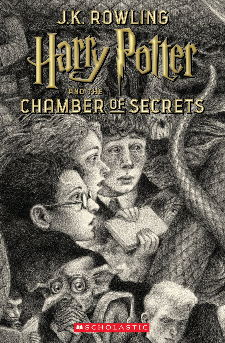 Harry Potter Book Cover Black And White : Th anniversary harry potter covers revealed and