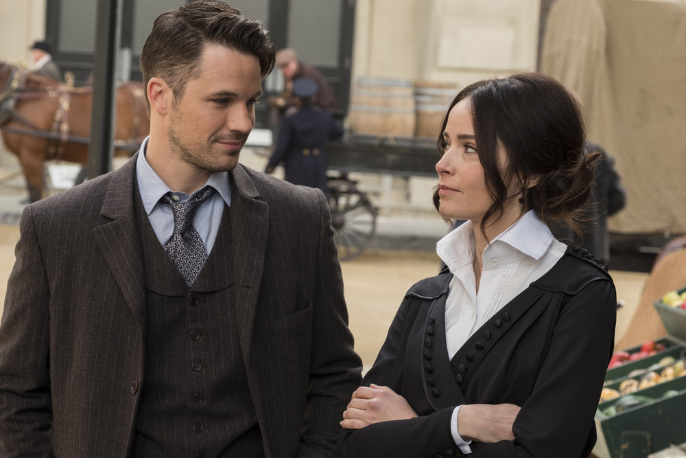Timeless' 2x07 review: Even Mrs  Sherlock Holmes knows