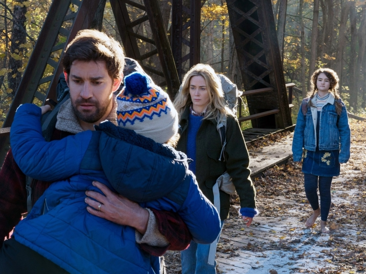 a quiet place family