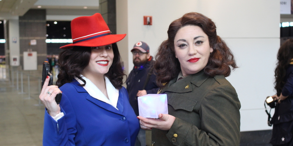 Agent Carter cosplayers at C2E2