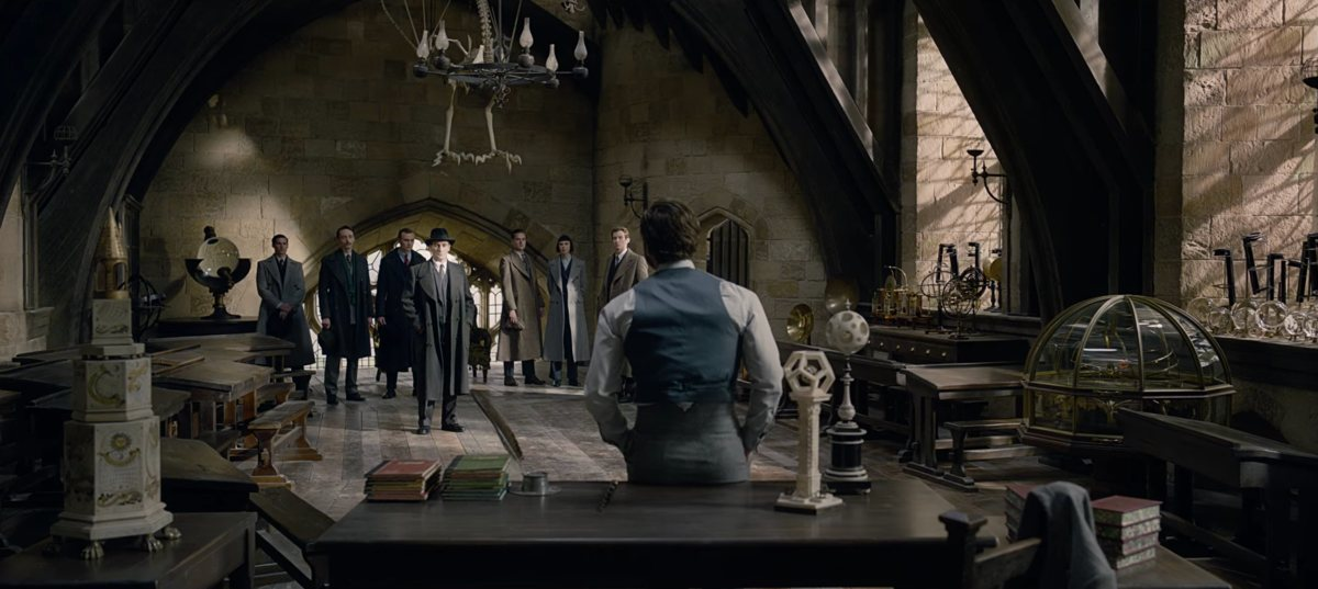 Fantastic Beasts 2 Reveals Dumbledore Taught Defense Against Dark