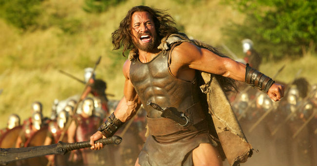 Dwayne Johnson in Hercules