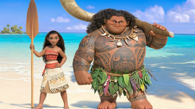 Dwayne Johnson in Moana