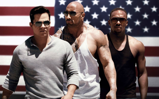 Dwayne Johnson in Pain & Gain