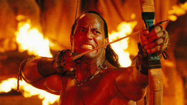 Dwayne Johnson in Scorpion King