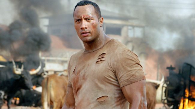 Dwayne Johnson in The Rundown