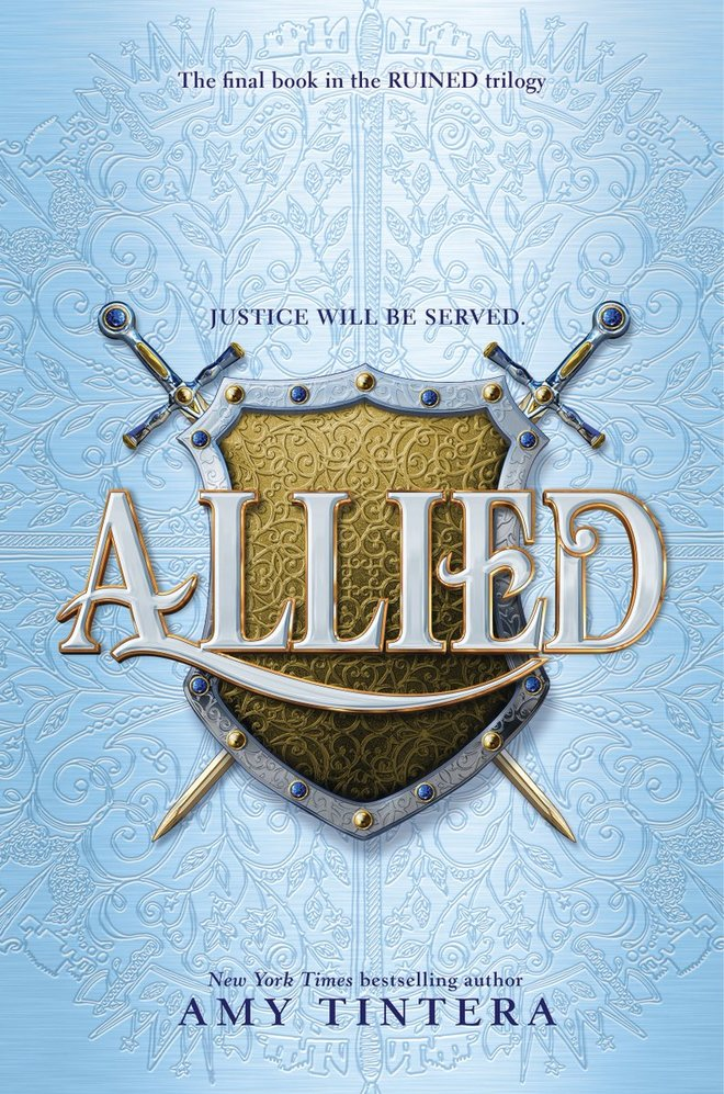 'Allied' (Ruined #3) by Amy Tintera