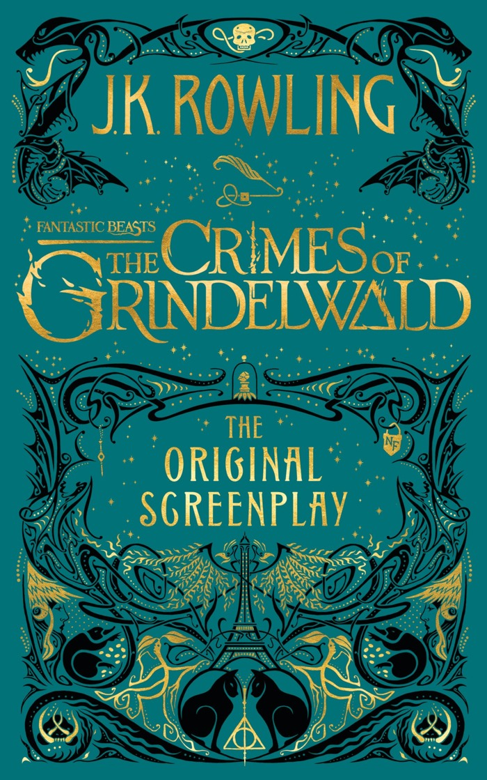 Fantastic Beasts Crimes of Grindelwald screenplay cover