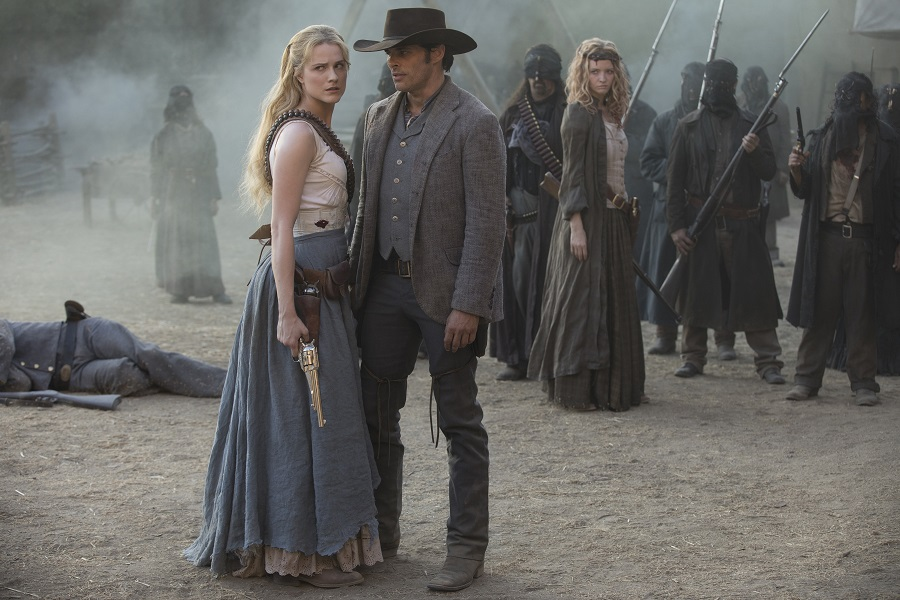 westworld season 2, teddy and dolores