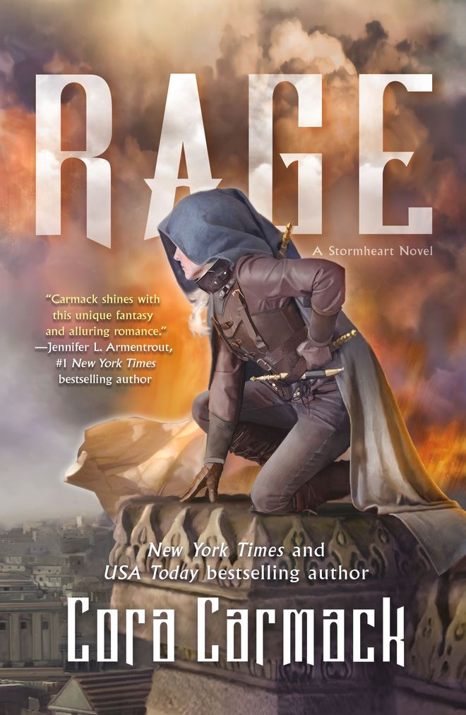 'Rage' (Stormheart #2) by Cora Carmack
