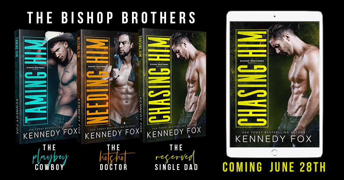 Chasing Him' by Kennedy Fox exclusive excerpt and giveaway