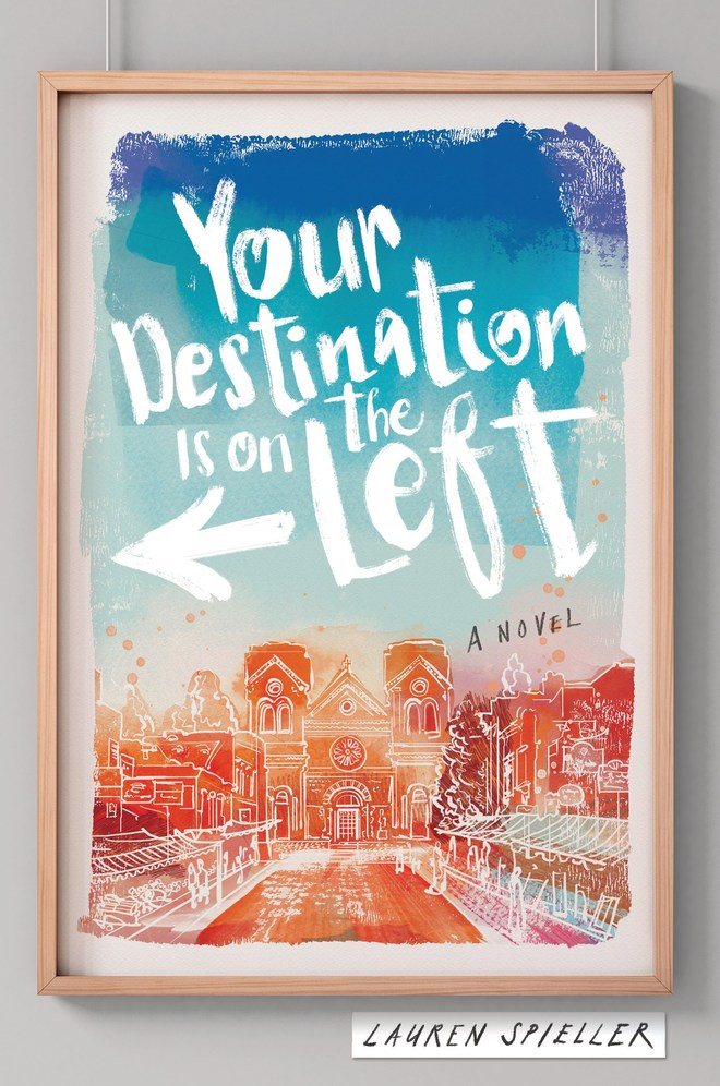 'Your Destination is on the Left' by Lauren Spieller