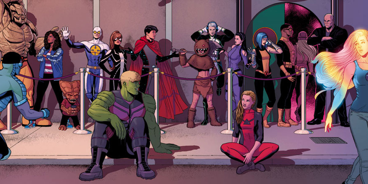 Which LGBT+ characters could be joining the Marvel Cinematic
