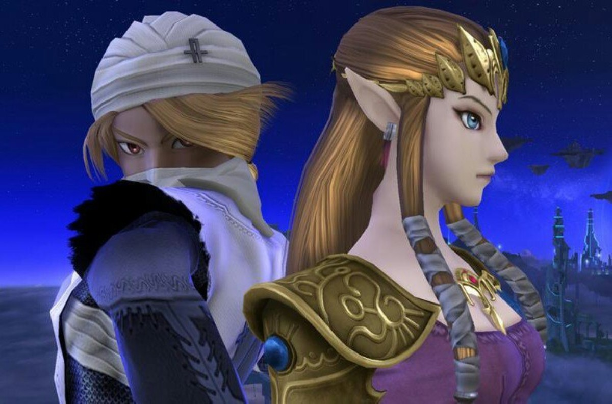 sheik and zelda