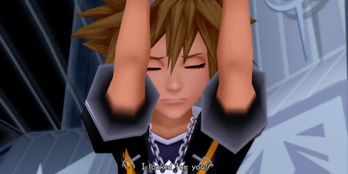 kingdom hearts queerbaiting sora and riku reunion
