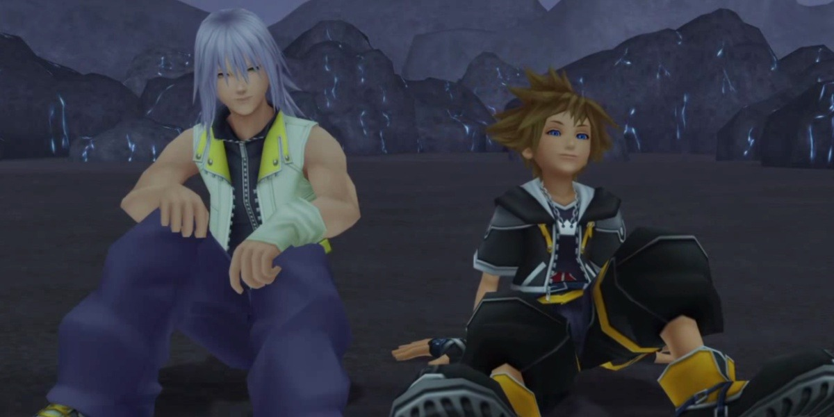 kingdom hearts queerbaiting sora and riku