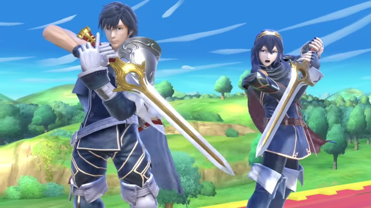 smash direct chrom and lucina