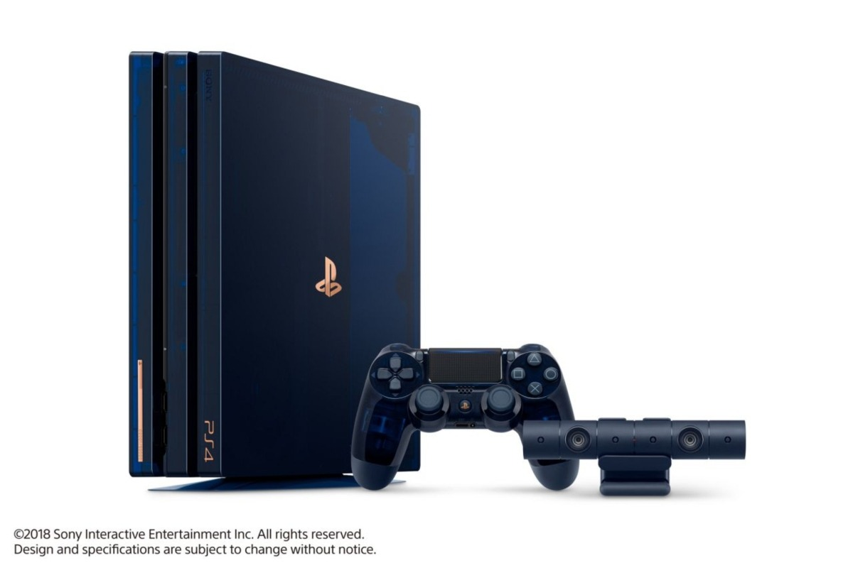 translucent ps4 console