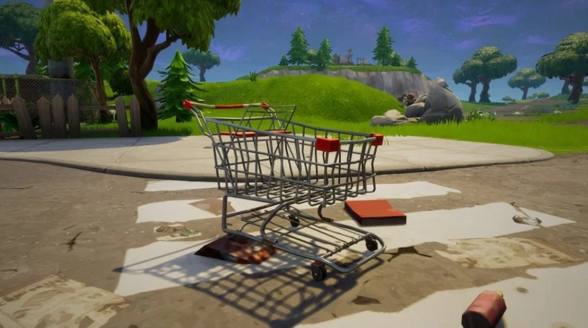 video game tutors fortnite shopping cart