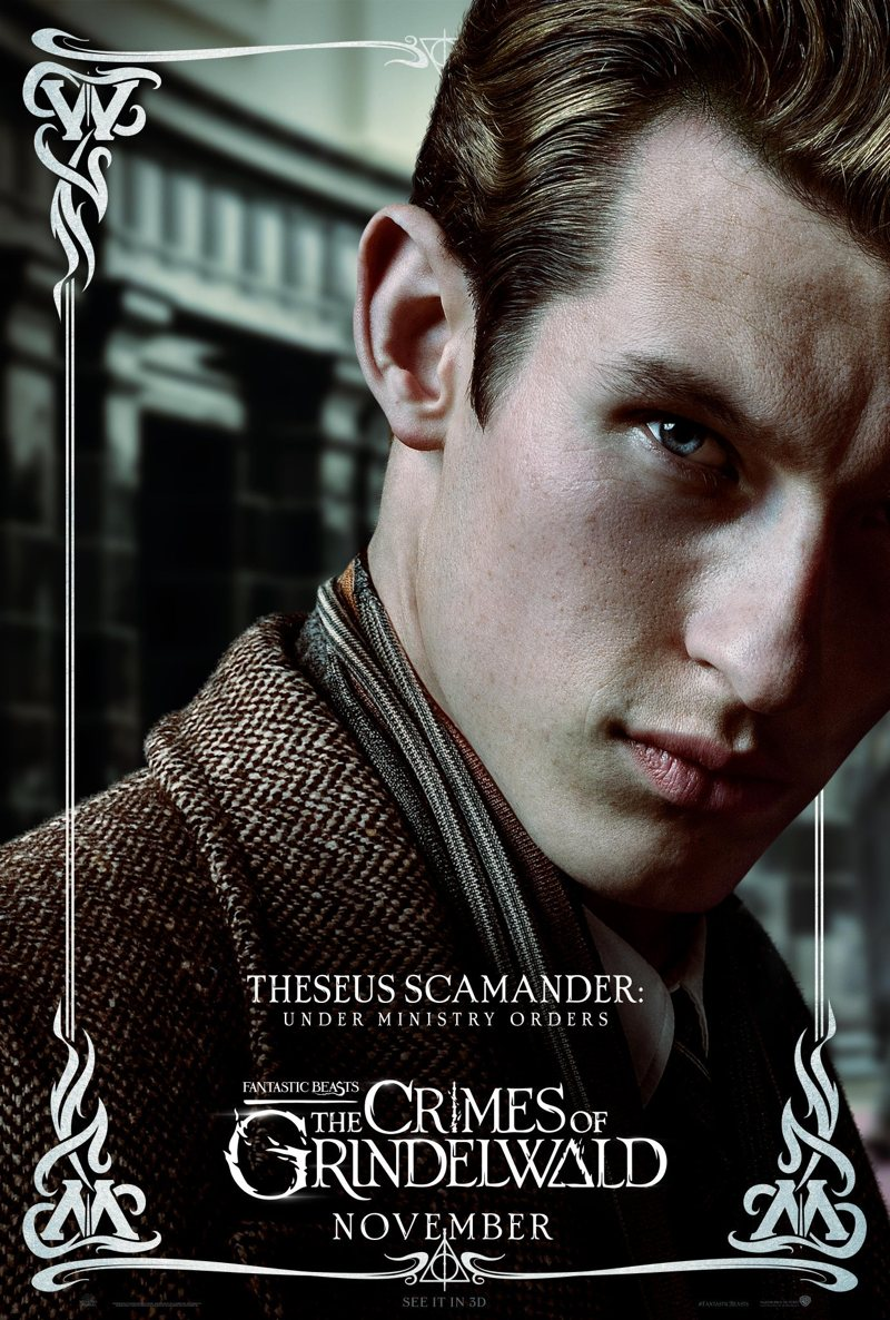 Fantastic Beasts Theseus Ministry poster