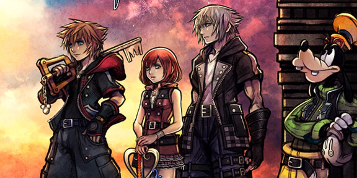 Kingdom Hearts 3 Box Art Exciting Story Trailer Revealed
