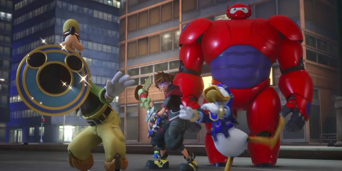 'Kingdom Hearts 3' trailer finally reveals first look at 'Big Hero 6' gameplay