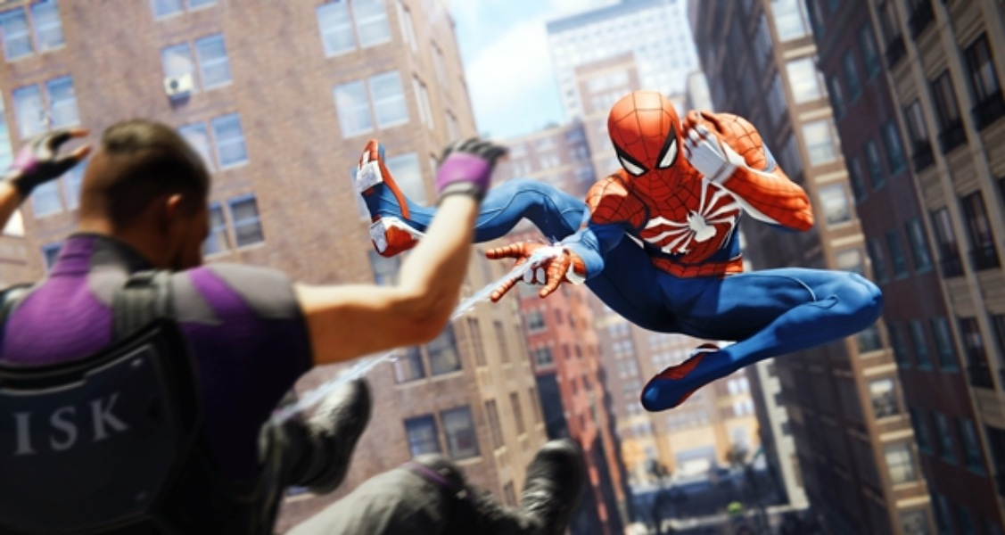 spider-man ps4 review attacking