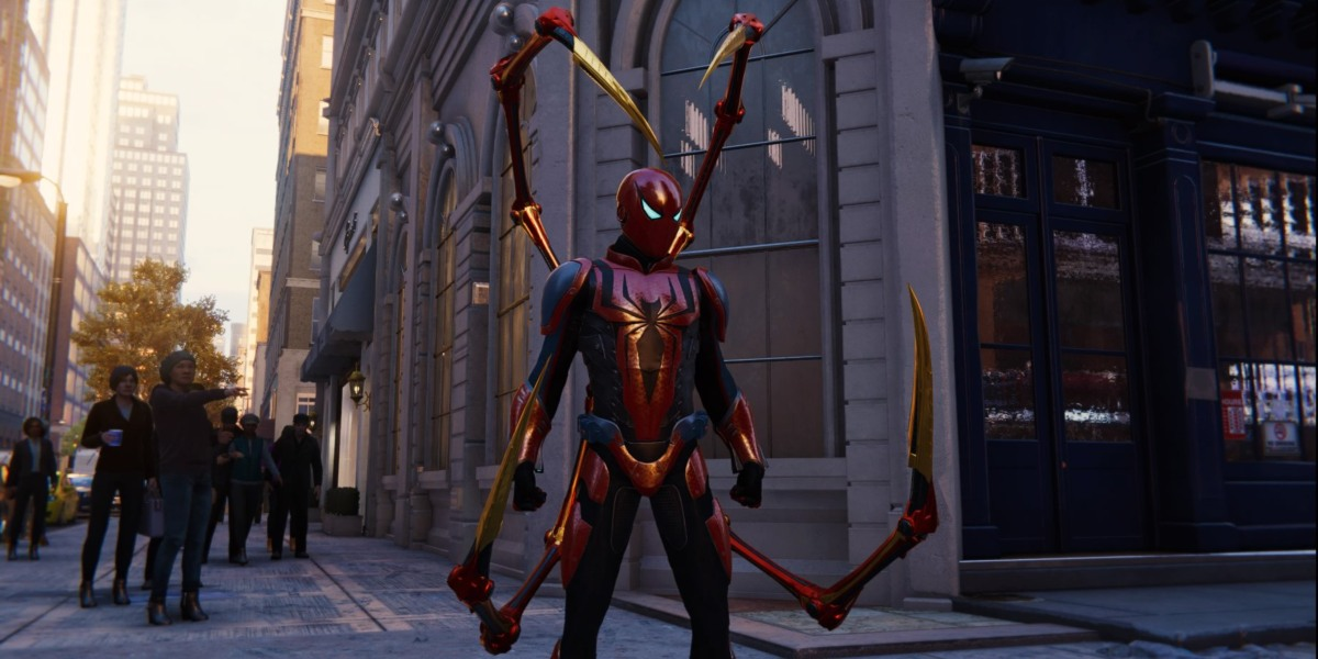 spider-man ps4 review suit