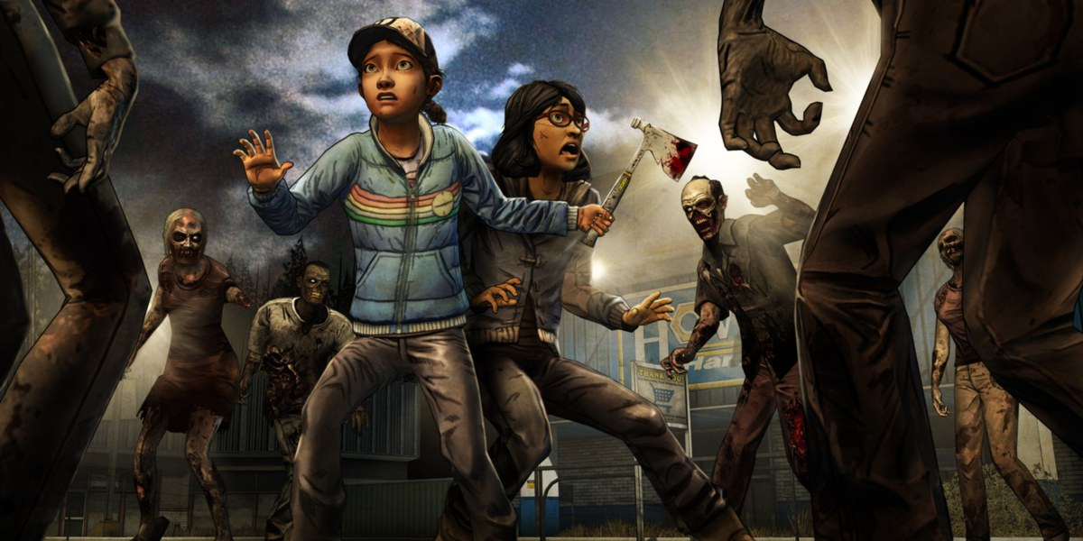 telltale's the walking dead best moments Sarah