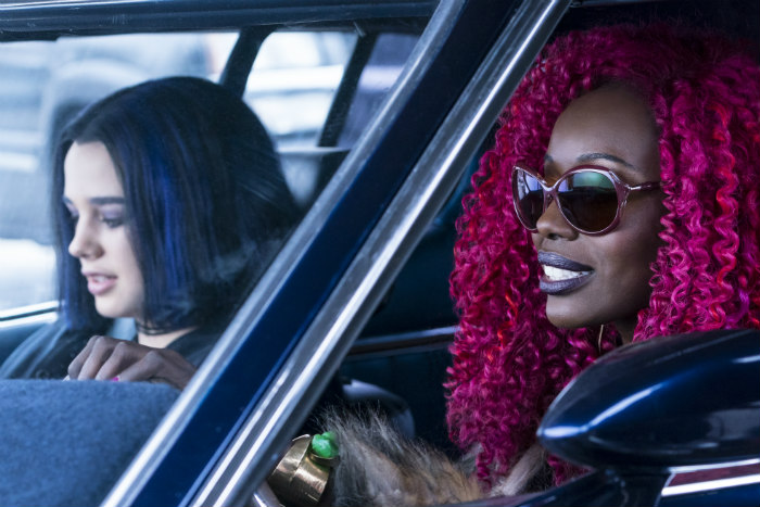 Raven and Kory in Titans 1x03