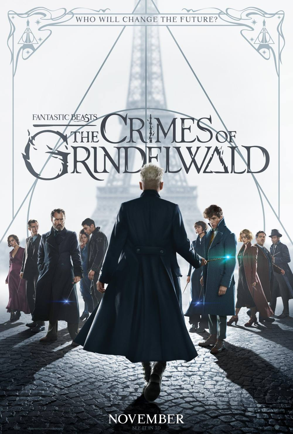 Crimes of Grindelwald Johnny Depp poster